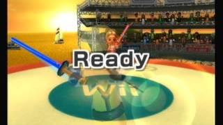 wii sports resort swordplay duel part 2