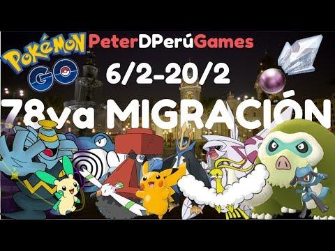 """78va Migración""""Sinnoh"""" & Nuevos Nidos Completos Lima Perú - Pokemon Go[PeterD'PerúGames] thumbnail"""