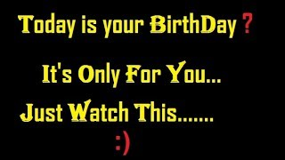 Gambar cover Happy BirthDay To You!! 😍 HeArt TouChing Or different emotional BirthDay wish Video oR Gift 😊