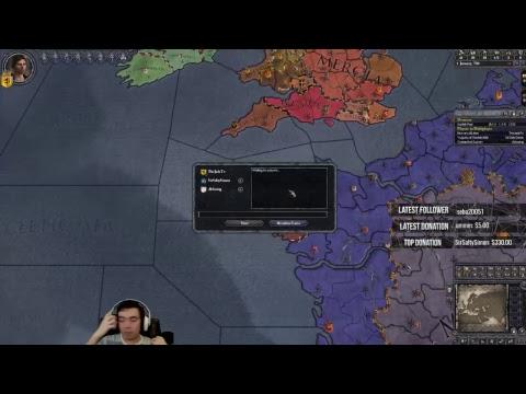 [ENG] Viewer Games! Crusader Kings II Hype! !youtube !twitter