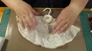 tutorial Vintage coat hangers