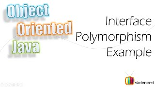67 java interfaces polymorphism example |