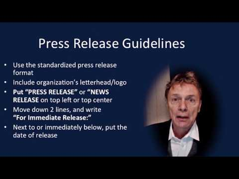 How To Write A Press Release For A Public Health Crisis Or Emergency
