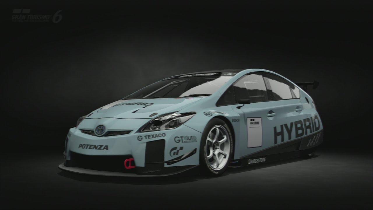 Toyota Prius Touring Car Gt6 Minaki Super Driving Technique
