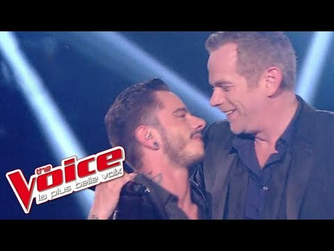Joe Cocker – With a Little Help From My Friends| Maximilien Philippe & Garou| The Voice 2014 |Finale