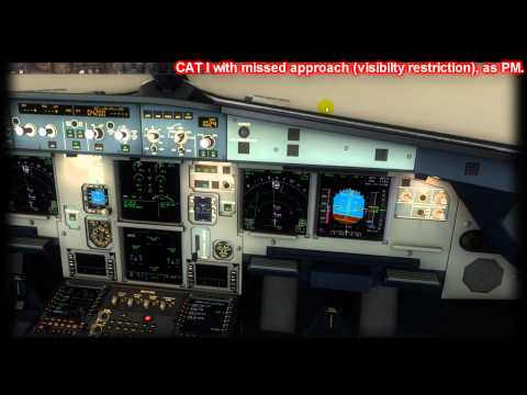 Treinamento CAT I Missed Approach and CAT II Autoland