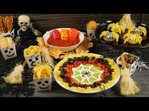 Halloween Party Snacks I Snackideen I Tag 3 Halloween Woche 2019
