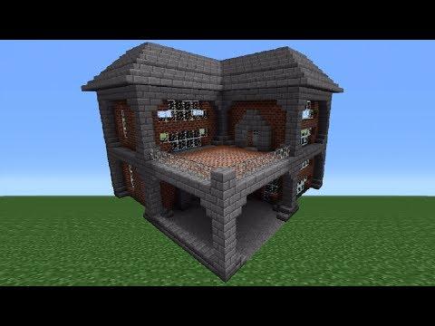 Minecraft Tutorial: Brick House - 1