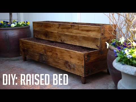 DIY: Raised Bed Patio Planter