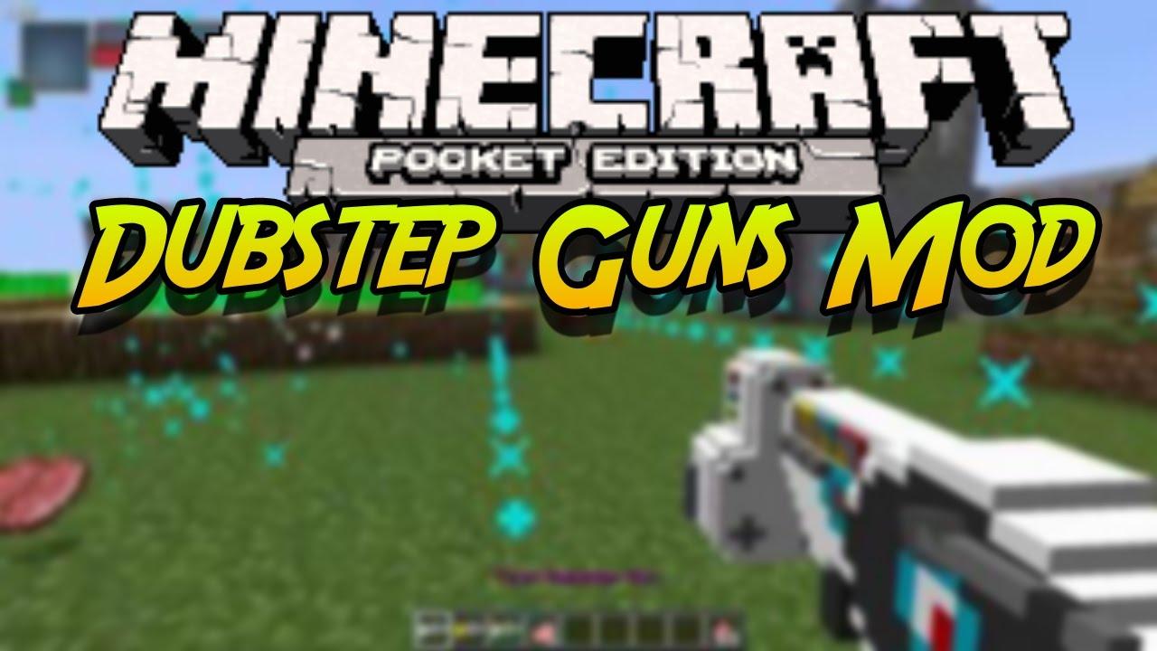 Мод на Оружие для Minecraft Pe
