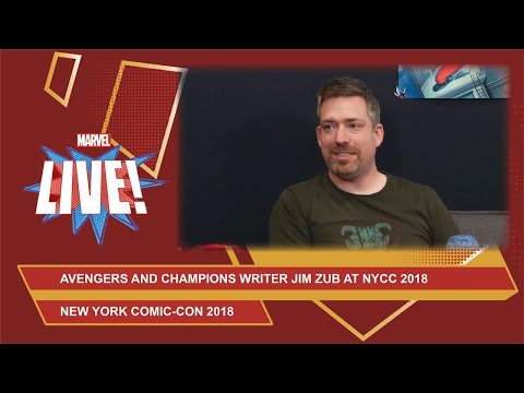 Marvel writer Jim Zub talks about his upcoming Avengers: No Road Home weekly at NYCC 2018!