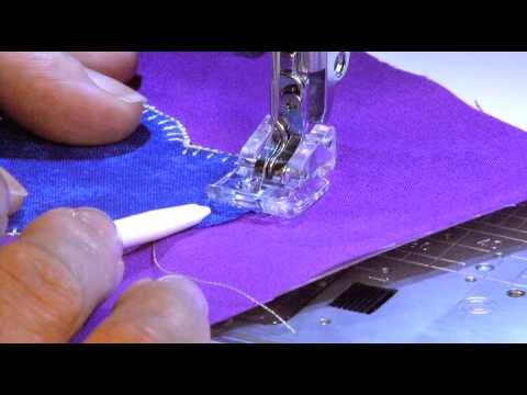 Applique Foot AP For Janome 40mm Machines YouTube Delectable Best Sewing Machine For Applique