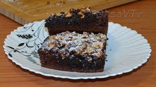 Шоколадный брауни. Chocolate Brownie.
