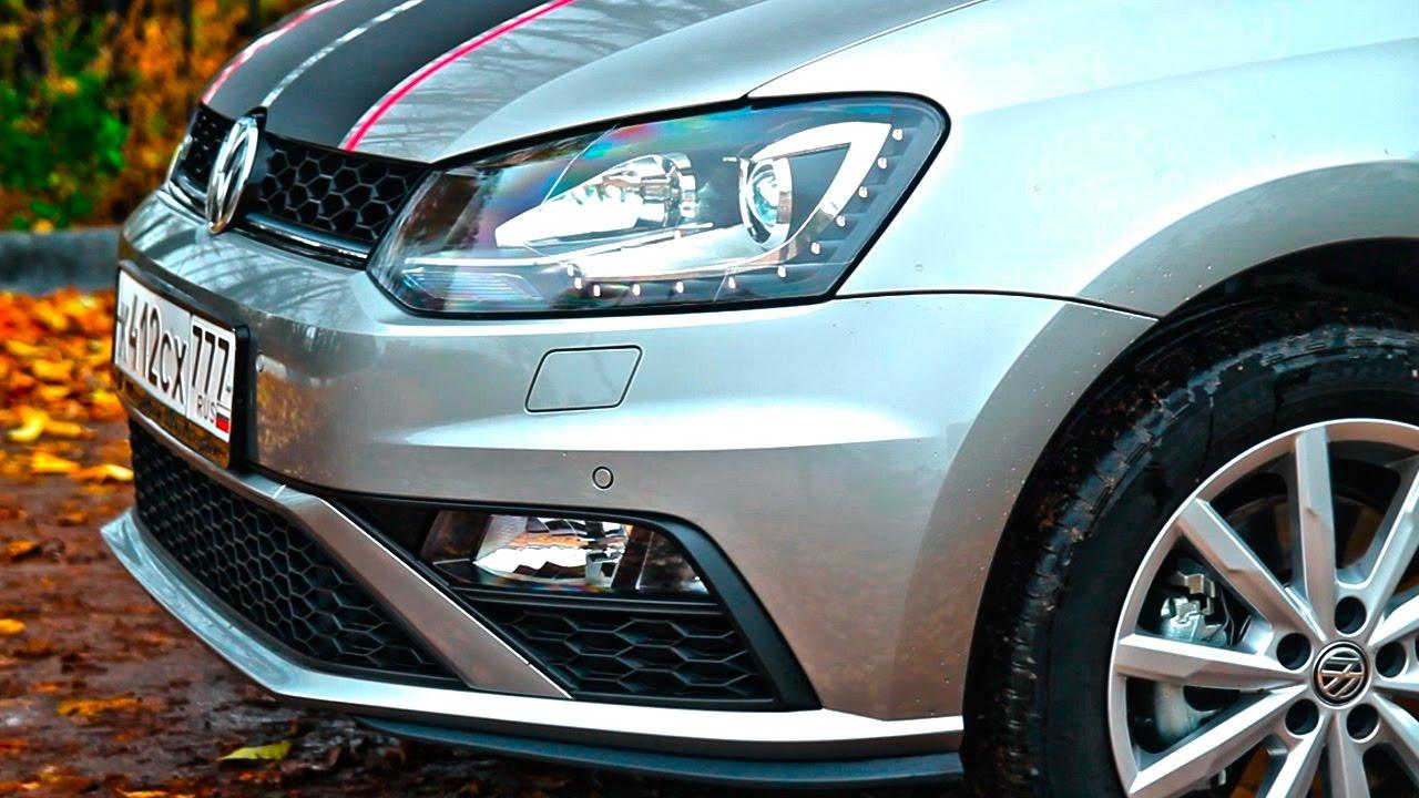 Быстрее Калины NFR ! Фольксваген Поло GT 1,4 TSI 2017 Тест драйв и обзор VW Polo Sedan GT