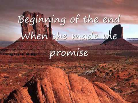 Beginning of the end - When she made me promise