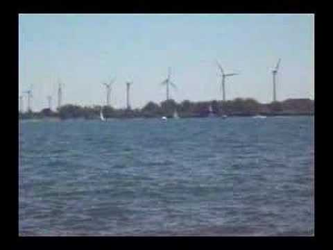 Windmills on Lake Erie