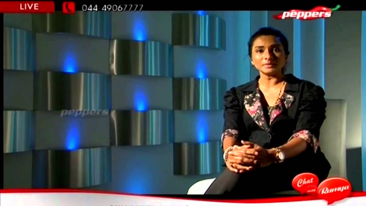 Chat With Ramya | Peppers TV | Serial Actress Ramya