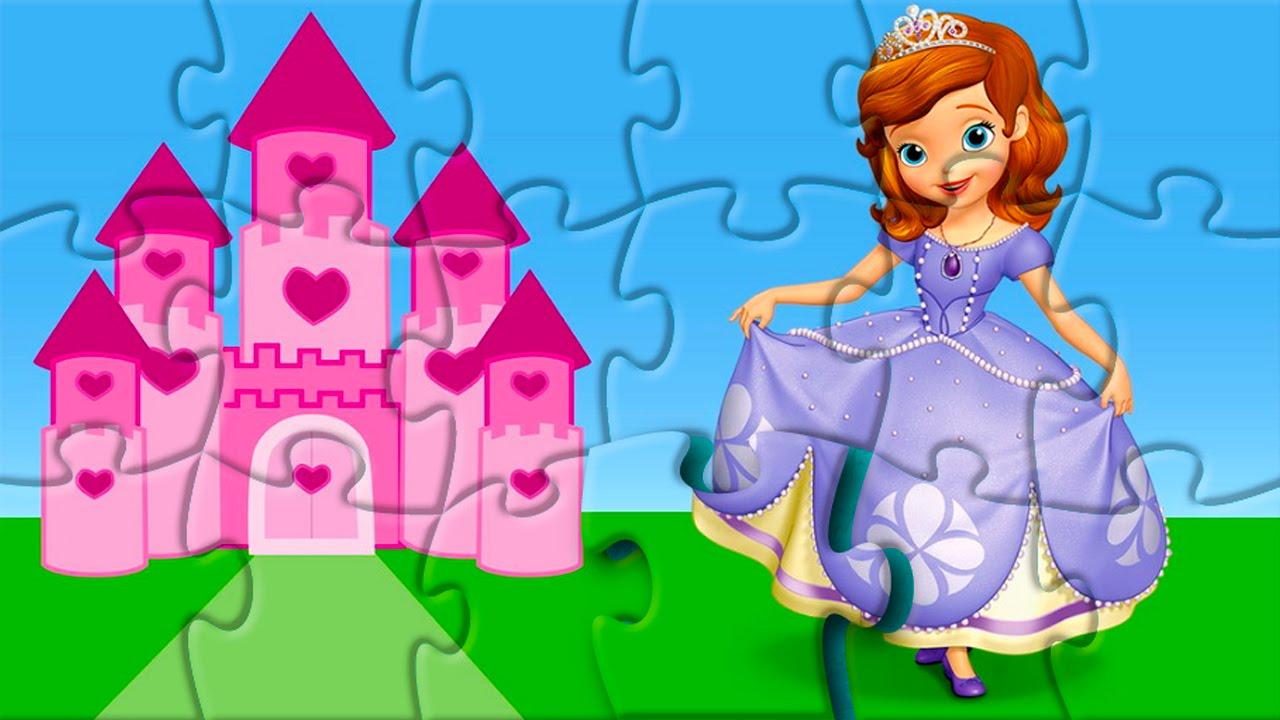 Rompecabeza Princesa Sofia Sofia The First Puzzle Game