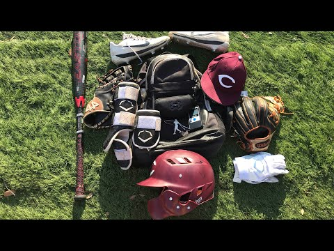 What's In My Baseball Bag? **SUMMER 2019**