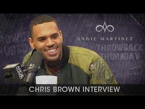 Chris Brown Interview with Angie Martinez Power 105.1 (11/24/2015)