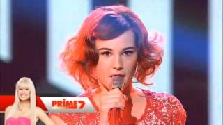 Xfactor 2012 Live Shows Bella Ferraro sings 99 Red Balloons