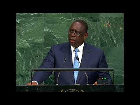Senegal  President Addresses General Debate, 72nd Session