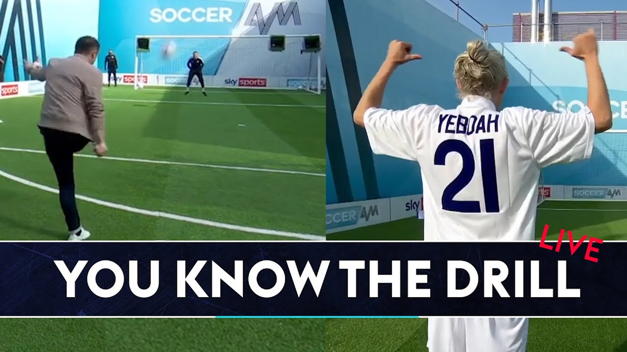 Bullard and Keane recreate Tony Yeboah's classic volley! 💥| You Know the Drill LIVE!