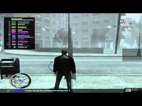 GTA IV - Rockstar Social Club Multiplayer Event (April 17th,2012) HD
