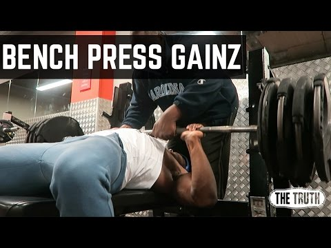 Huge Bench Press Personal Best