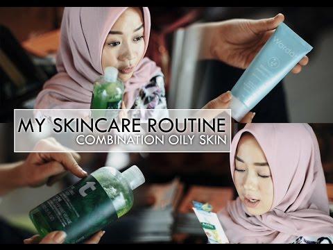 MY SKINCARE ROUTINE (Oily Combination Skin )   Cheryl Raissa