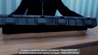 видео Водоотводные лотки чугунными решетками