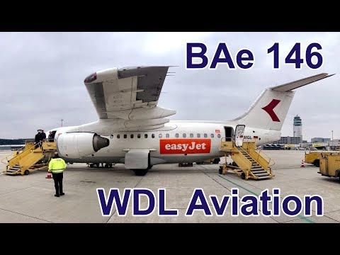 BAe 146-200 | WDL Aviation (easyJet) | Inflight Experience | Berlin-Tegel to Vienna