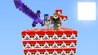 LUCKY BLOCK DO GATO l MINECRAFT ILHA LUCKY BLOCK
