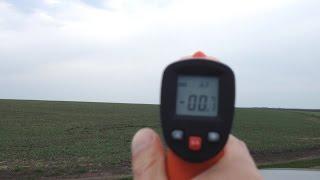Готовимся к следующему эксперименту измеряю температуру неба