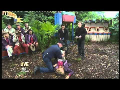 Gillian Mckeith Fainting on I'm a Celebrity (HD) - 22nd November