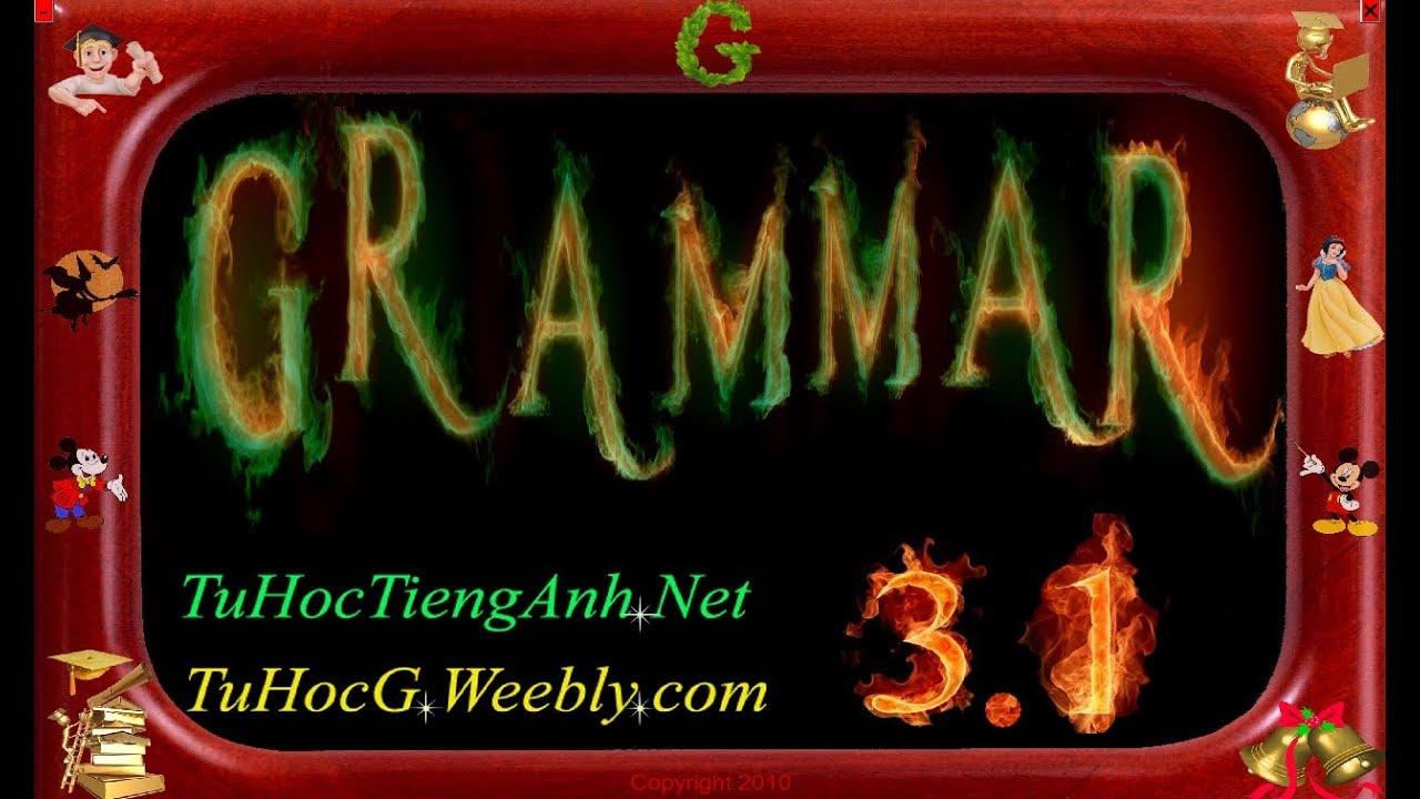 Hướng dẫn cài đặt GRAMMAR 3.1 Full – Phần mềm học tiếng Anh cực tốt