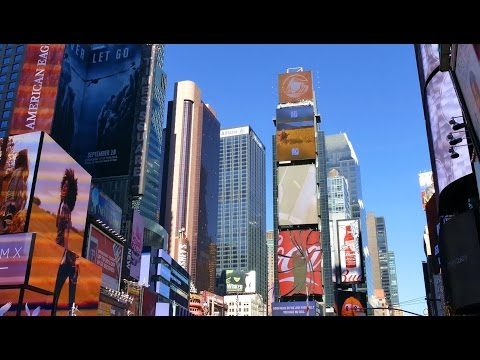 The Crossroads Of The World, Times Square, Manhattan, New York City, 4K Video