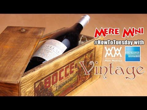 Amex EveryDay: Rustic wine bottle gift box | Mere Mini