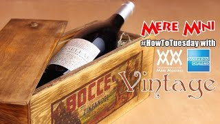 Amex Everyday: Rustic Wine Bottle Gift Box | Mere Mini