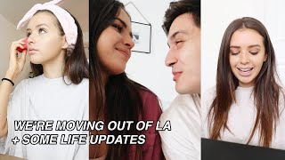 DAY IN MY LIFE: moving out of LA, life updates, secret projects :)