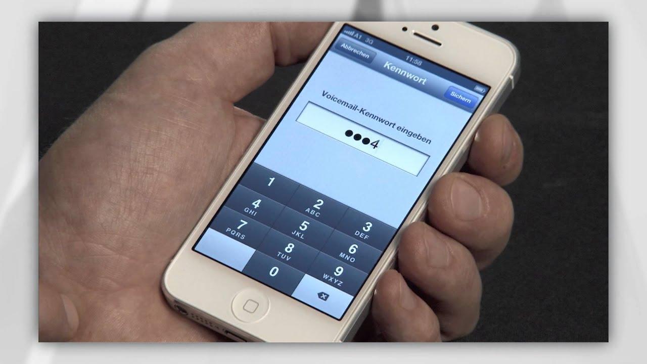 Visual Voicemail am iPhone einrichten