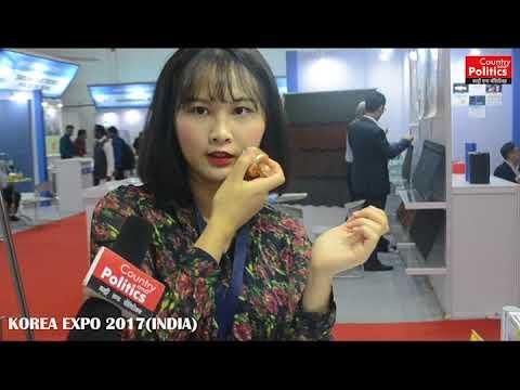 2nd KOREA EXPO 2017,Business Fair at Pragati Maidan, New Delhi,India