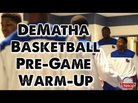 DeMatha Basketball Pre-Game Warm-Up