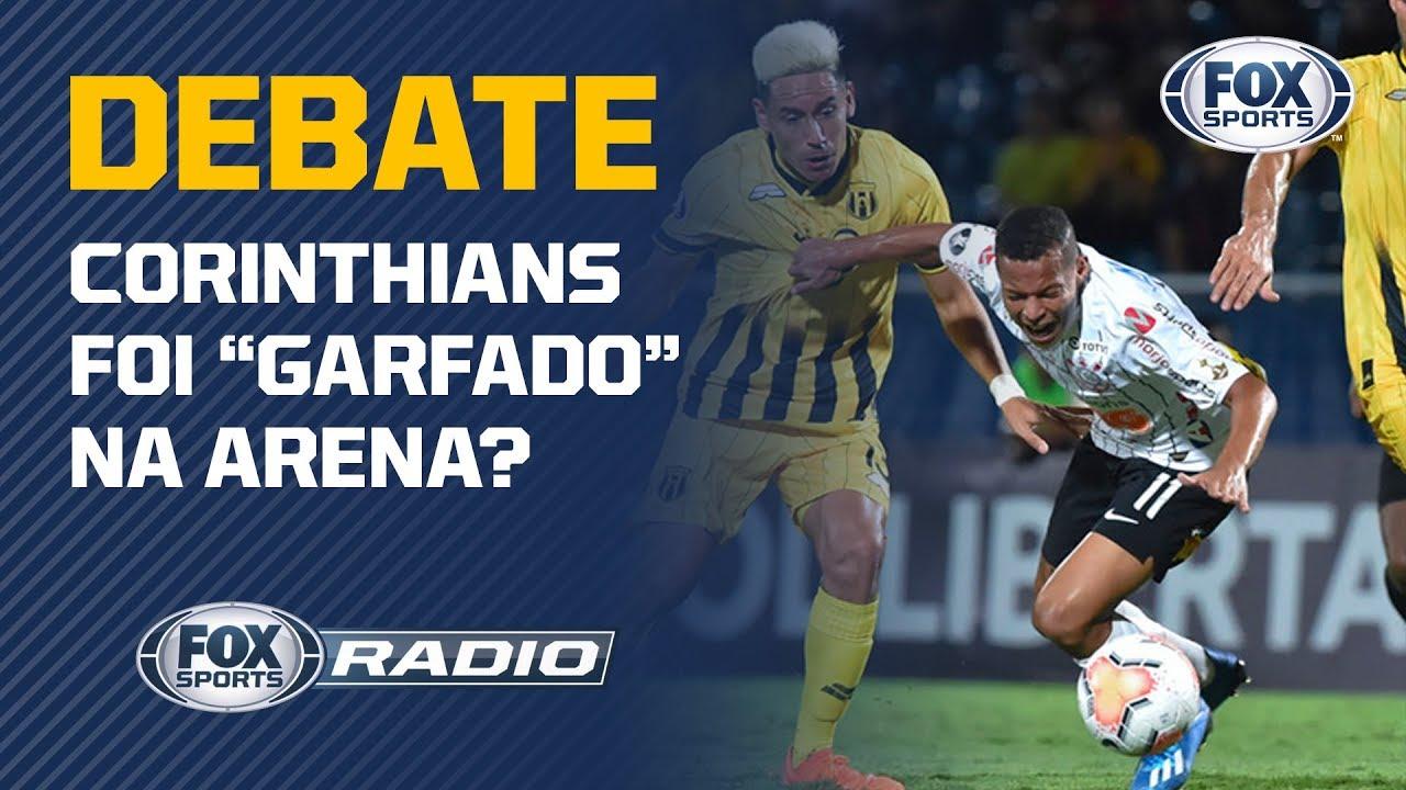 ARBITRAGEM PREJUDICOU O CORINTHIANS? Debate no FOX Sports Rádio sobre eliminação da Libertadores.