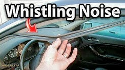 How to Fix Whistling Noise in Your Car (Door Seal)