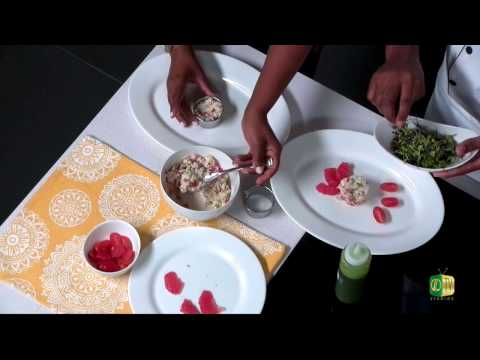 Chef it Up - Chef Edwin's Heart of Palm Crab Salad & Baked Bree Cheese