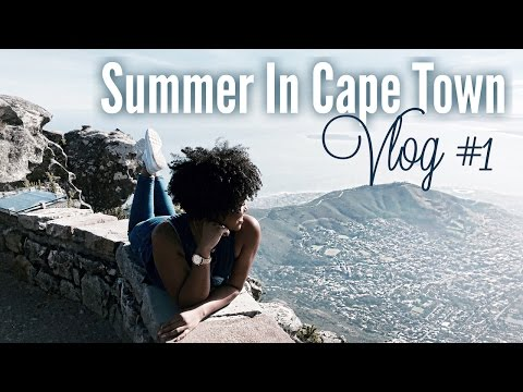 Summer In Cape Town | South Africa Vlog # 1