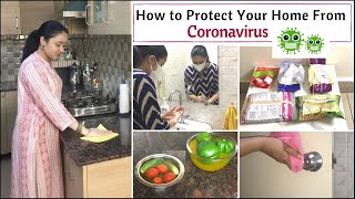 Coronavirus Safety & Readiness Tips | How To Protect Your Home From Coronavirus | How To Disinfect