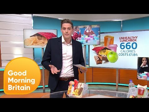 Dr. Alex Explains What's in a Healthy Lunchbox | Good Morning Britain