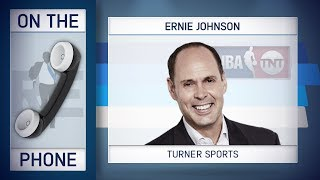 Turner Sports Ernie Johnson Talks NBA Playoffs, MLB Rule Change & More w/Rich Eisen | 2/22/18